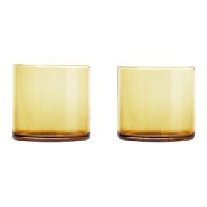 Blomus Set 2 skleniček MERA matná zlatá 0,2 l