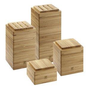 ZWILLING Set úložných bambusových boxů