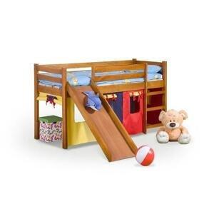 Dětská postel Nava zvýšená (borovice) HENRY STYLE