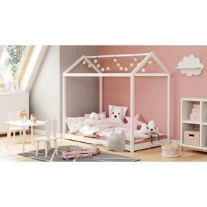 Dětská postel Maugli (bílá)
