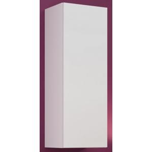 Vigo - Vitrína závěsná, 1x dveře (bílá mat/bílá VL) HENRY STYLE