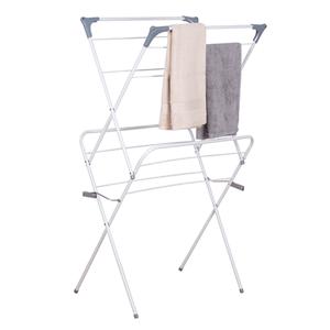 Dvojitý sušák na prádlo NODAR bílá / šedá Tempo Kondela
