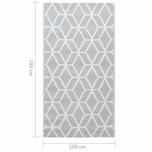 Venkovní koberec PP Dekorhome 160x230 cm