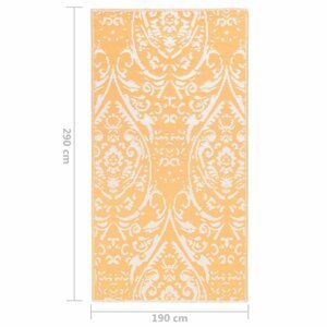 Venkovní koberec PP Dekorhome 190x290 cm