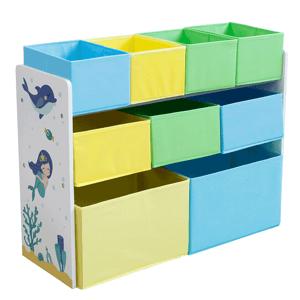 Regál na hračky NOMITO TYP 2 bílá / vícebarevná Tempo Kondela