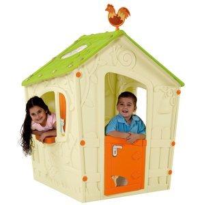 MAGIC PLAY HOUSE domeček - zelený Keter Béžová