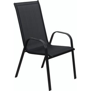 Zahradní židle XT1012C (ZWC-2429) ROJAPLAST Černá