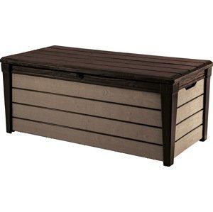 BRUSHWOOD box - 455L Keter Hnědá