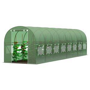 Zahradní fóliovník 3x8m zelená