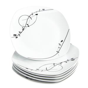 Domestic Sada mělkých talířů Londra 25 cm, 6 ks