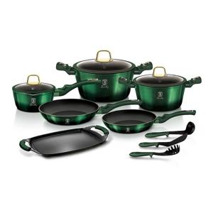 Berlinger Haus 14dílná sada nádobí Emerald Collection
