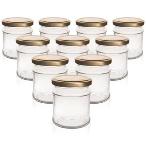 ORION Zavařovací sklenice s víčkem Deva, 0,21 l