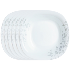 Luminarc Sada mělkých talířů Ombrelle 27 cm, 6 ks, biela