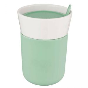 BergHOFF Termohrnek porcelánový LEO 330 ml, mátová