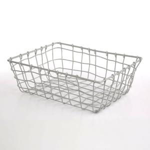 Altom Obdélníkový košík Grey, 30 x 22 x 10 cm