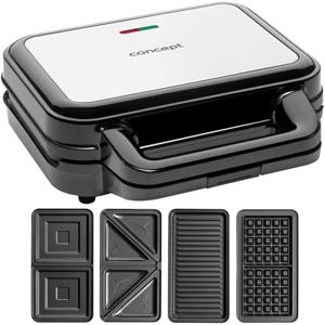Concept SV3070 sendvičovač s výměnnými deskami XXL