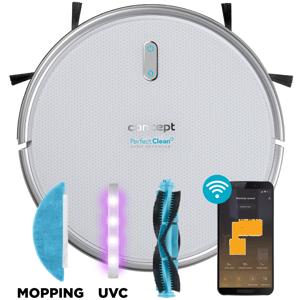 Concept VR2020 robotický vysavač s mopem 3 v 1 Perfect Clean Gyro Defender UVC