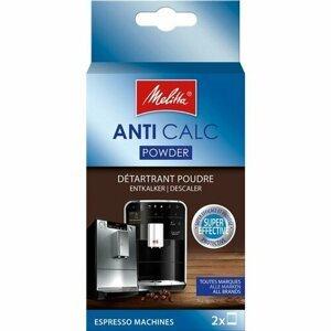 Melitta Anti Calc Práškový odvápňovač pro plnoautomatické kávovary 2x40g