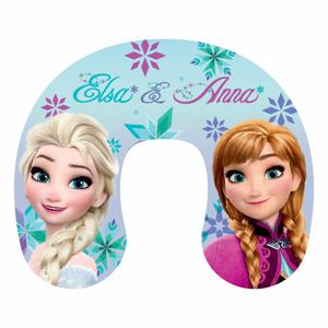 Jerry Fabrics Cestovní polštářek Ledové Království Frozen Anna and Elsa, 30 x 35 cm