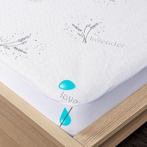 4Home Lavender Nepropustný chránič matrace s lemem, 180 x 200 cm