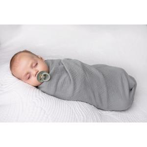 Babymatex Zavinovačka tmavě šedá, 80 x 120 cm