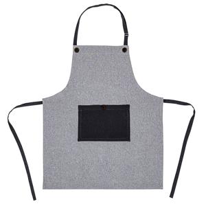 Trade Concept Zástěra šedá Heda, 70 x 85 cm