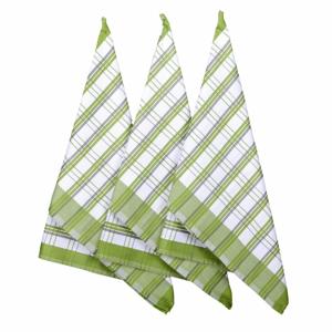 Forbyt Kuchyňská utěrka Green, 50 x 70 cm, sada 3 ks