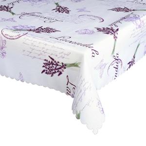 Forbyt Ubrus s nešpinivou úpravou Levandule fialová, 120 x 140 cm