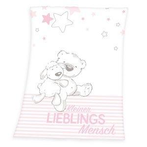 Herding Deka Kleiner Lieblings růžová, 75 x 100 cm