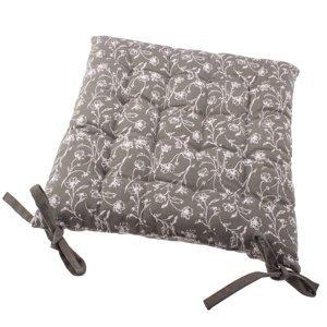 Sedák na židli Zara hnědá, 40 x 40 cm