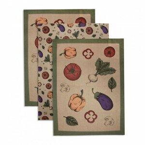 Trade Concept Utěrka Vegetable, 50 x 70 cm, sada 3 ks