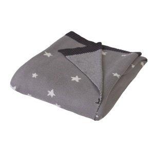 Babymatex Dětská deka Pattern Hvězdičky, 80 x 100cm
