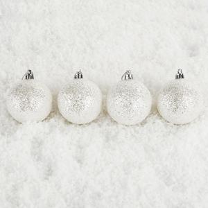 Vánoční koule Bglitter 6 ks,  pr. 6 cm, HTH