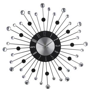Nástěnné hodiny s kamínky