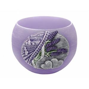 Dekorativní svíčka Bartek Candles Lavender Kiss - Fialová 280 g