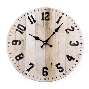 Nástěnné hodiny Woody, 34 cm