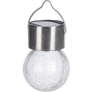 Závěsné solární světlo Ampoule, 6 cm