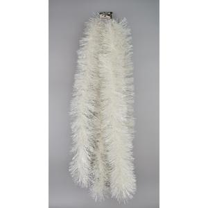 Vánoční řetěz Fiocco bílá, 2,7 m