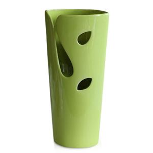 Keramická váza Spring mood, zelená