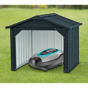 Garáž - domek pro robotické sekačky, 63 x 63 cm, antracit, DURAMAX 98171