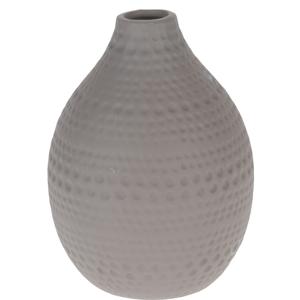 Keramická váza Asuan hnědá, 17,5 cm