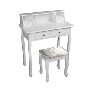 Tempo Kondela Toaletní stolek Rodes new, bílá