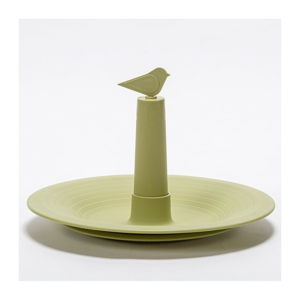 Plastia Pítko pro ptáky Finch, olivová