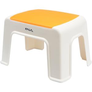 Plastová stolička 30x20x21cm oranžová FALA