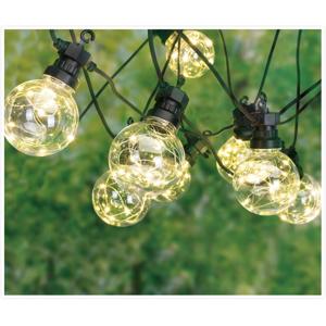 Venkovní party LED řetěz Bulbs, 10 žárovek