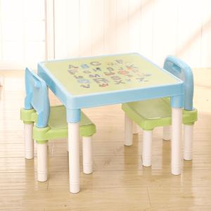 Dětská sasa stolečku a židliček Balto 3 ks, modrá