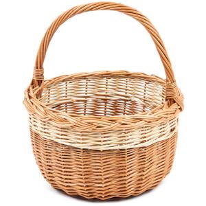 Nákupní proutěný košík Bolero, pr. 29 cm