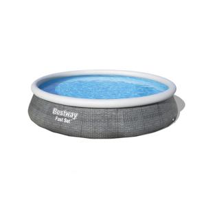 Bestway Nadzemní bazén s filtrací Fast Set Ratan, pr. 396 cm, v. 84 cm