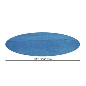 Bestway Solární plachta na kruhový bazén 244 cm