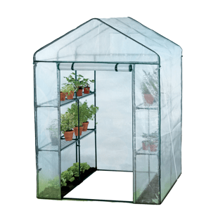 Zahradní fóliovník  s policemi 140 x 140 x 200 cm